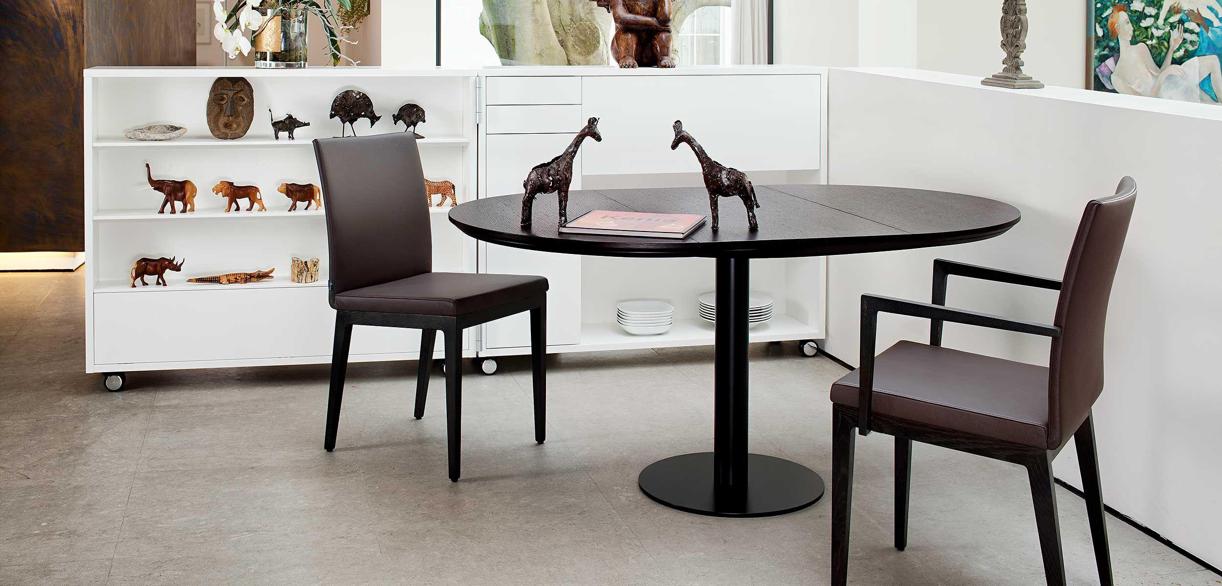 Designer Tische Holz Metall